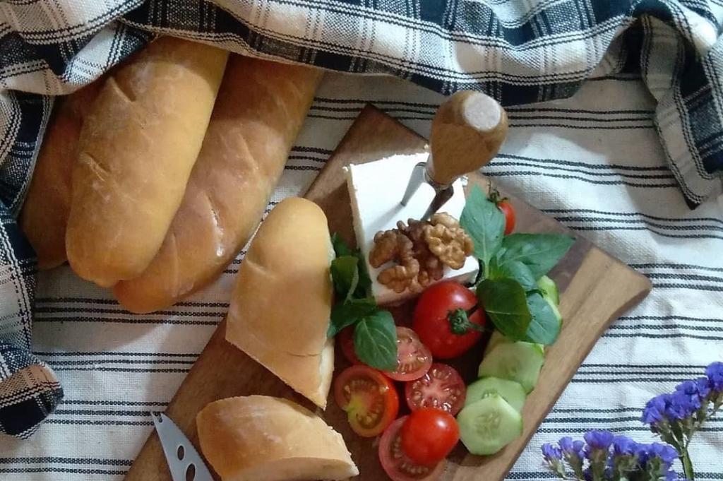طرز تهیه نان ساندویچی فرانسوی