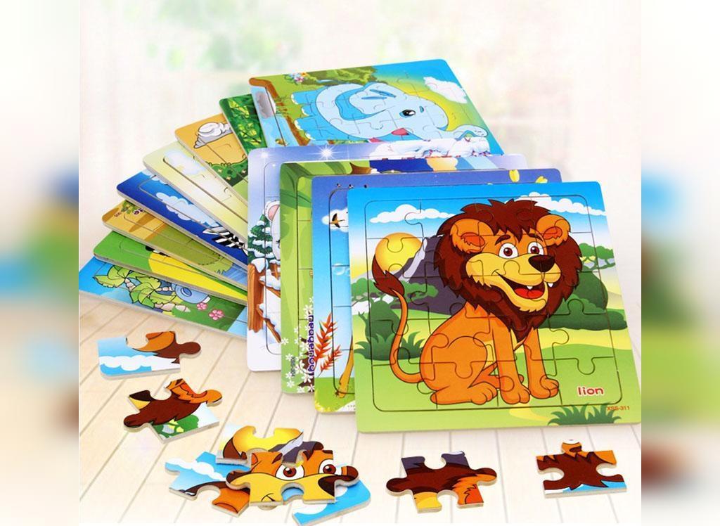 پازل، یکی از بهترین اسباب بازی مناسب برای بچه های یک ساله