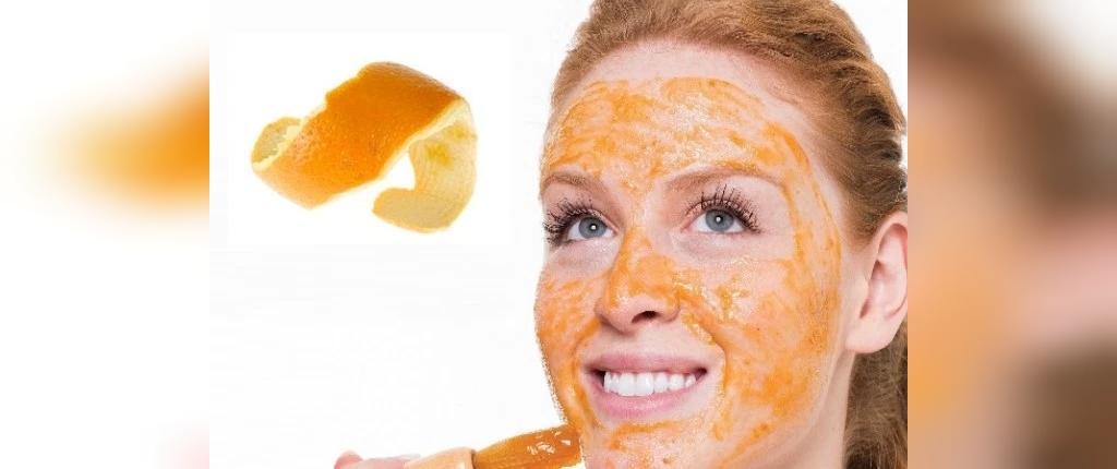 رفع جوش سرسیاه با پوست پرتقال