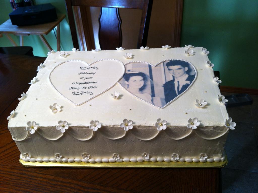 عکس کیک سالگرد ازدواج