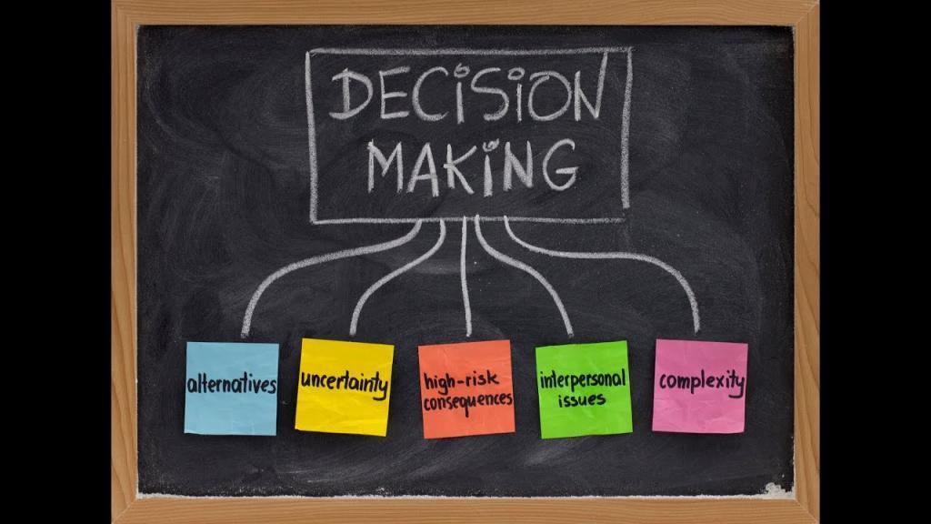 مراحل تصمیم گیری؛ 8 گام مهم فرآیند تصمیم گیری با ابزار آنها