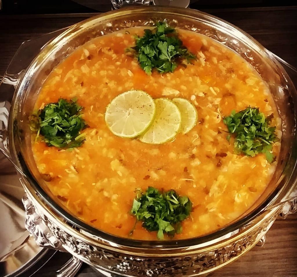 طرز تهیه سوپ جو قرمز خوشمزه مجلسی
