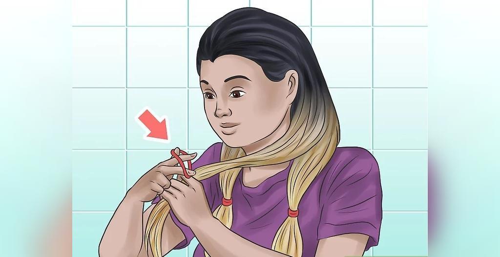 چگونه در خانه موهای خود را آمبره کنیم