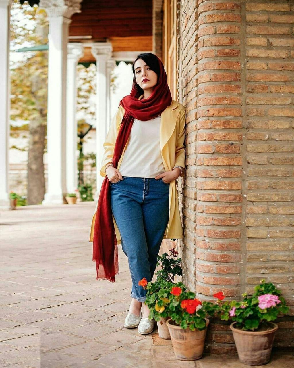 مدل لاکچری ژست عکس دخترانه با حجاب